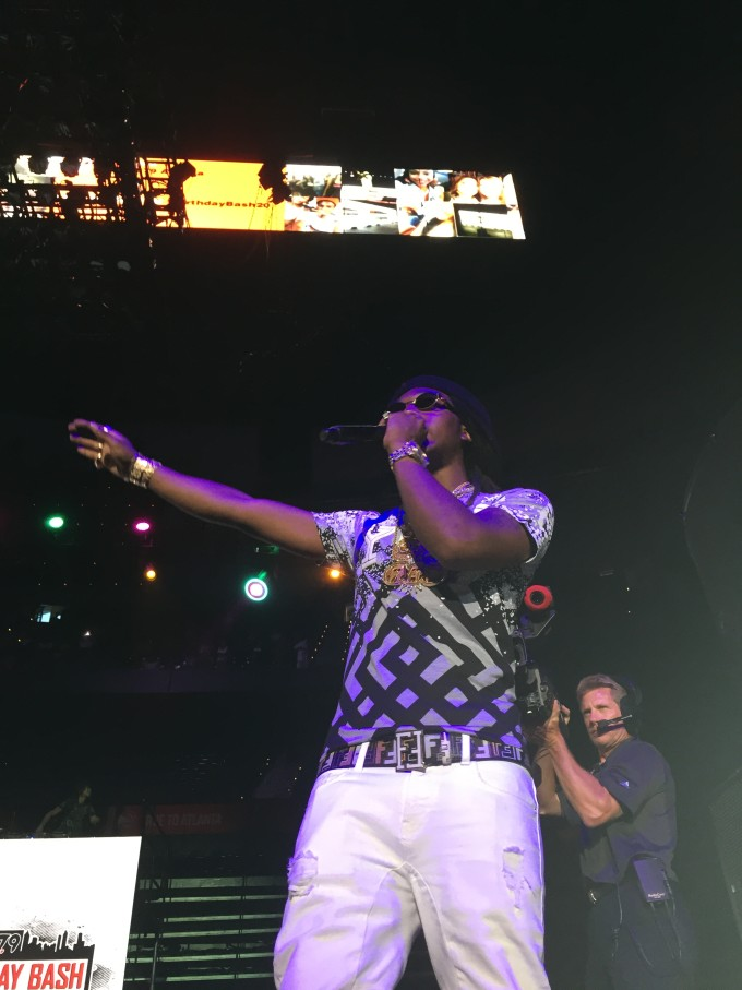 Migos perform at Birthday Bash 20 in Atlanta